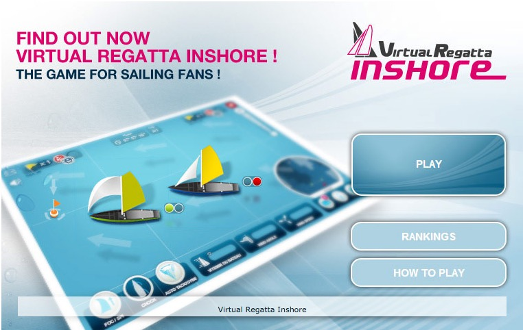Virtual Regatta Start Screen