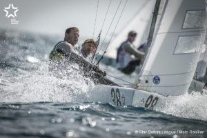 Bow: 98 // Sail: BRA 8494 // Skipper: Robert Scheidt BRA // Crew: Henry Boening BRA