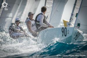 Bow: 90 // Sail: ARG 8470 // Skipper: Facundo Olezza ARG // Crew: Frederico Melo POR